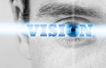 Vision, an imagined idea or a goal to which one aspires